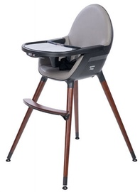 Britton Fika Highchair Dark Grey/Brown