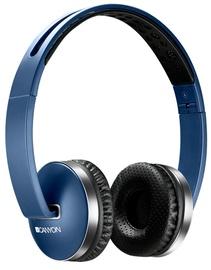 Austiņas Canyon Wireless Foldable Blue, bezvadu