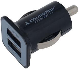 Зарядное устройство Carmotion Car USB Charger Black