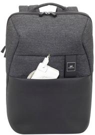 Рюкзак Rivacase Melange MacBook Pro And Ultrabook Backpack, черный, 15.6″