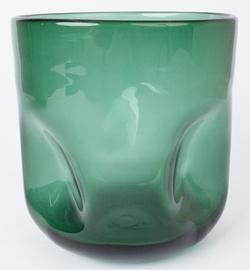 Ваза Home4you Luxo, зеленый, 160 мм