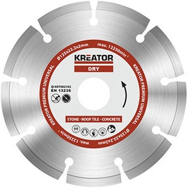 Kreator KRT082102 125x22.2mm Diamond Disc