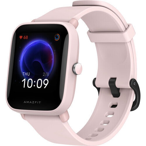 Viedais pulkstenis Amazfit Bip U, rozā