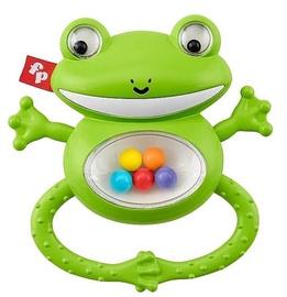 Погремушка Fisher Price Shake & Rattle Frog, зеленый