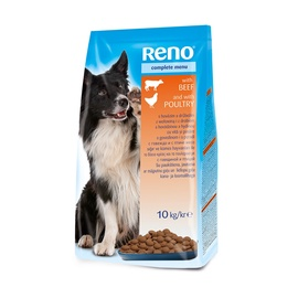 Reno Complete Dog Food Beef & Chicken 10kg