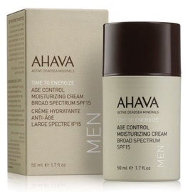 Крем для лица Ahava Men Time To Energize Age Control Moisturizing Cream SPF15, 50 мл