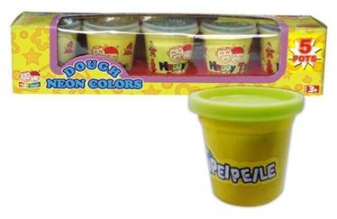 Peipeile Dough Neon Colors 5pcs 3772