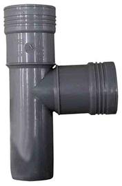 Kanalizācijas caurules trejgabals Wavin D50mm, 90°, PVC