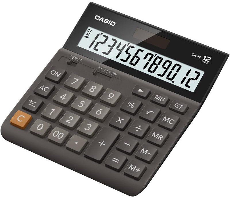 Casio Desk Calculator DH-12BK-S