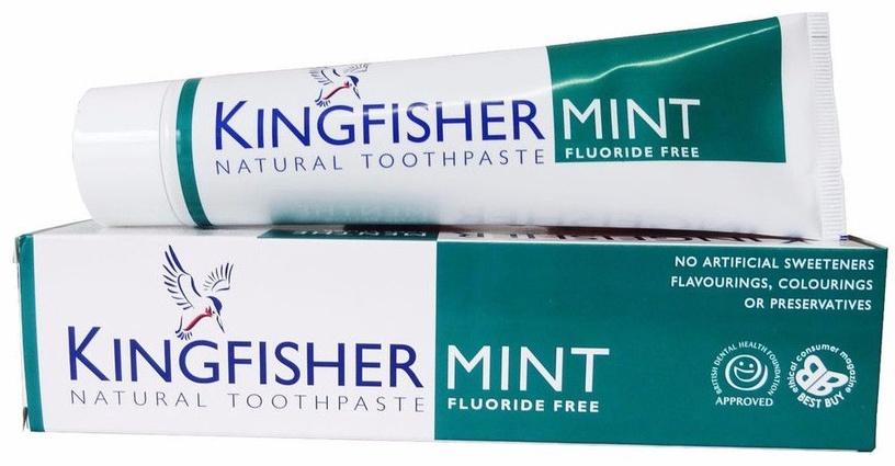 Kingfisher Toothpaste Mint 100ml Fluoride Free