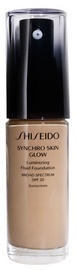 Shiseido Synchro Skin Glow Luminizing Fluid Foundation SPF20 30ml N4