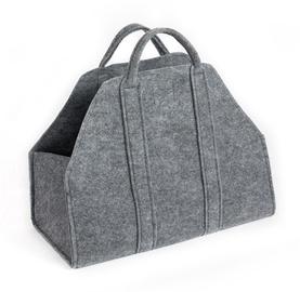NORDFlam Wood Basket Grey