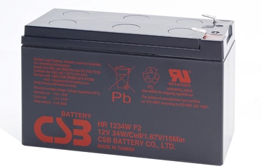 CSB battery HR1234W F2 12V/9Ah