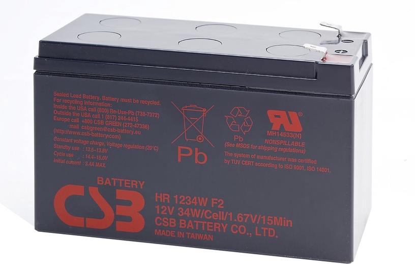 CSB battery HR1234W F2 12V/9Ah