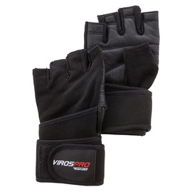 VirosPro Sports Gym Gloves Black M SG-1164B