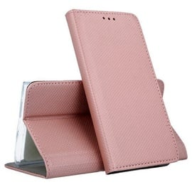 Mocco Smart Magnet Book Case For Samsung Galaxy A12 Pink