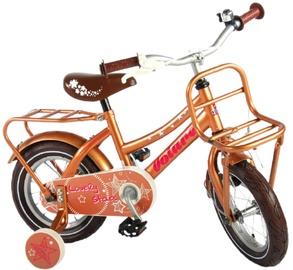 Детский велосипед Volare Lovely Stars 81228, золотой, 12″