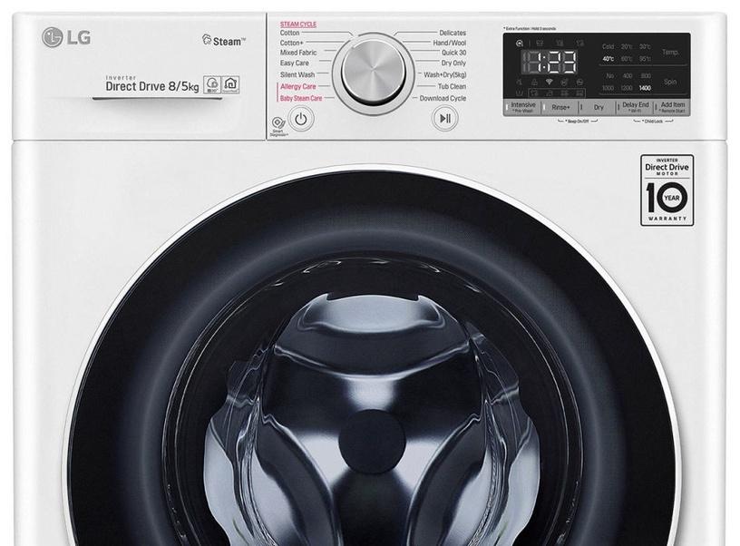 Veļas mašīna - žāvētājs LG F4DN408S0
