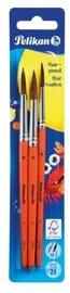 Pelikan Hair Brushes Set 8/10/12 3pcs