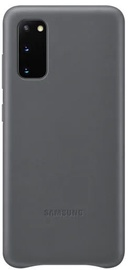 Samsung Leather Back Case For Samsung Galaxy S20 Plus Grey