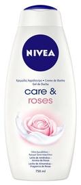 Гель для душа Nivea Care & Roses, 750 мл