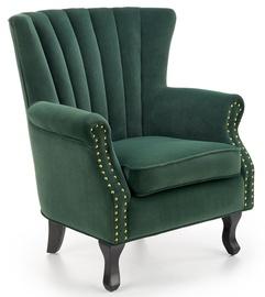 Atzveltnes krēsls Halmar Titan, zaļa, 73 cm x 70 cm x 87 cm