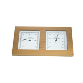 Flammifera AP-082BW Sauna Thermometer Brown