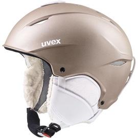 Uvex Primo Ski Helmet Prosecco Metallic Mat 52-55