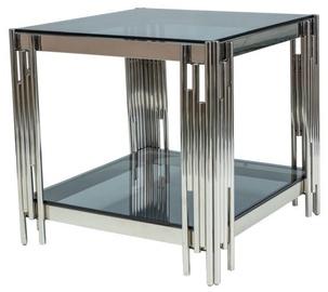 Kafijas galdiņš Signal Meble Fossil B Silver, 550x550x550 mm