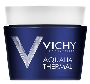 Sejas maska Vichy Aqualia Thermal Night Spa Gel Cream, 75 ml