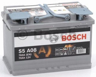 Bosch AGM S5 A08 Battery