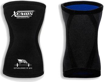 Drošība Xenios Ergo Compression Knee Guard 5mm Black XS