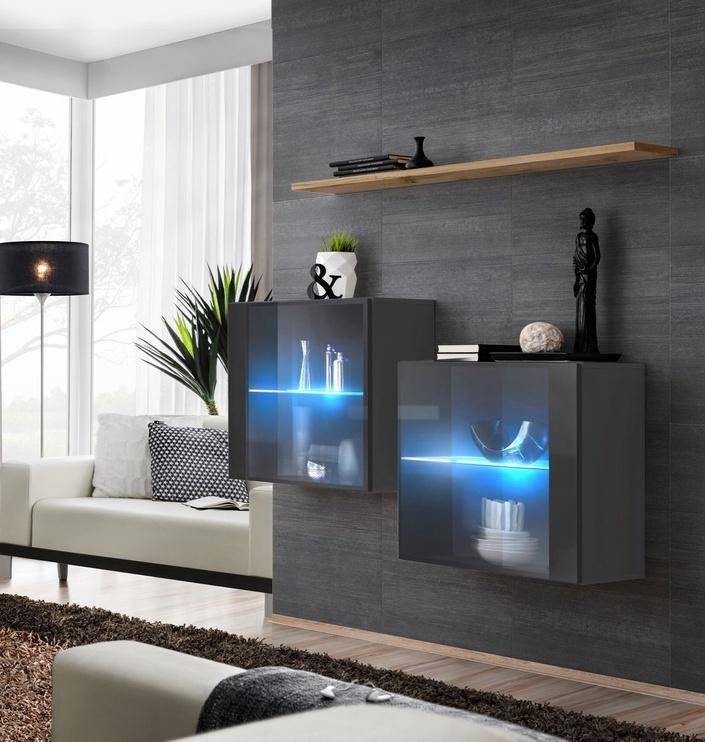 ASM Switch SB III Hanging Cabinet/Shelf Set Graphite/Wotan