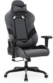 Игровое кресло Songmics Racing Chair Grey/Black, черный/серый