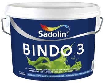 Krāsa bindo 3 bw 5l pilīgi matēta (Sadolin)