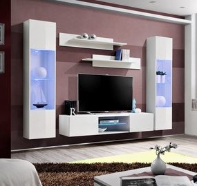 ASM Fly O3 Living Room Wall Unit Set White