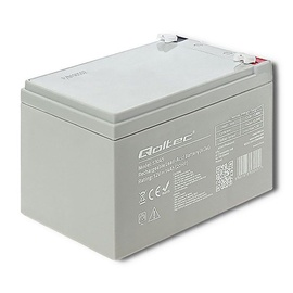 Qoltec AGM Battery 12V 14Ah Max 210A