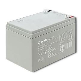 UPS akumulators Qoltec AGM Battery 12V 14Ah Max 210A
