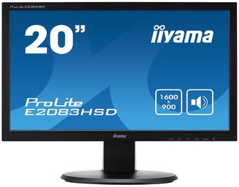 """Monitors Iiyama ProLite E2083HSD-B1, 19.5"""", 5 ms"""