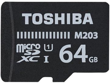 Toshiba M203 64GB microSDXC UHS-I Class 10 + SD Adapter