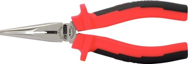 KSTools Long Nose Pliers 200mm Red