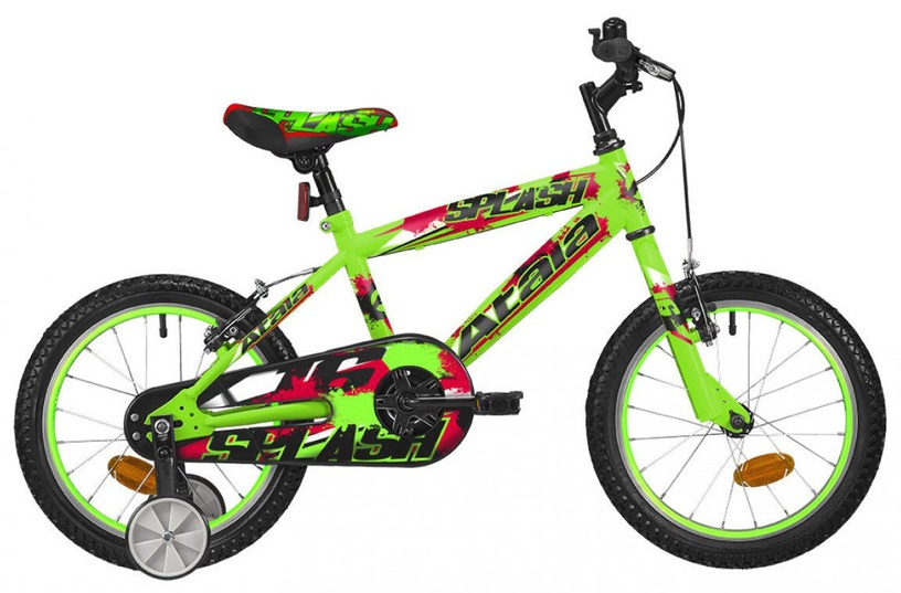 "Atala Splash 16"" Green/Red 19"