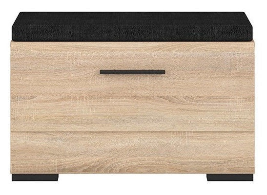 Apavu plaukts Black Red White Fever Sonoma Oak, 800x370x500 mm