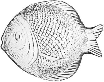 Galicja Serving Plate Glass Fish 20cm