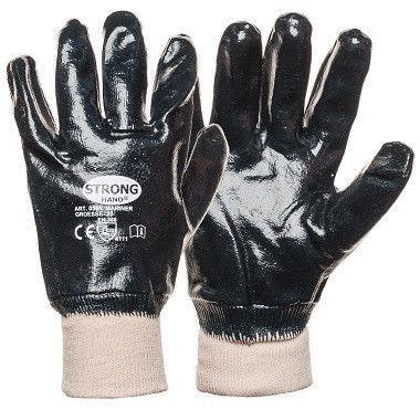 Darba cimdi Monte Gloves With Full Nitrile Coating 10 Black