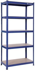 Songmics Storage Shelf Blue 180x90x45cm
