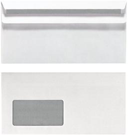 Конверт Herlitz Self Adhesive Envelopes With Window DL 25pcs