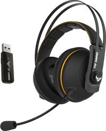 Austiņas Asus TUF Gaming H7 Black/Yellow, bezvadu
