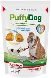 Gardums suņiem Crancy Snack Dog Plus PuffyDog, 0.06 kg