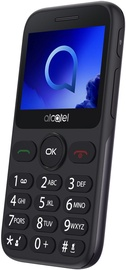 Мобильный телефон Alcatel 2019G, серый, 8MB/16MB